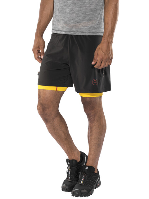 La Sportiva Rapid Shorts Men Black/Yellow